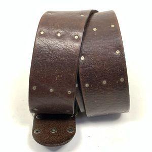 J. Crew Accessories - J. Crew Women's size 34 Brown Leather Belt England